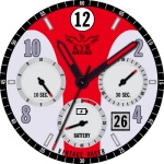 KYR Vintage Racer Collection Watch Face
