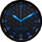 Kay Blue Watch Face