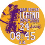 Kobe Bryant Legend Watch Face