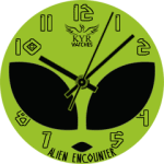 Kyr Alien Encounter Watch Face