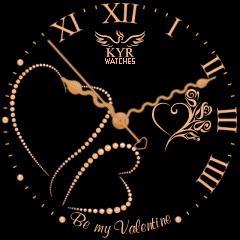 Kyr Be My Valentine VXP Watch Face