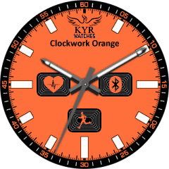 Kyr Cwork Orange VXP Watch Face