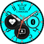 Kyr Cyano Gen Watch Face