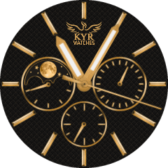 Kyr Dark Gold VXP Watch Face