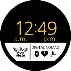 Kyr Digital Nomad VXP Watch Face