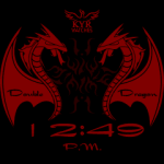 Kyr Double Dragon Watch Face