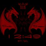 Kyr Double Dragon Watch Face