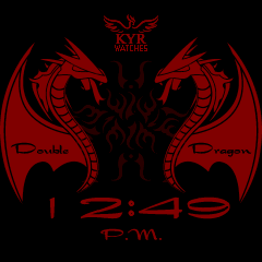 Kyr Double Dragon VXP Watch Face