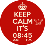 Kyr Keep Calm (Round & Square) Watch Face