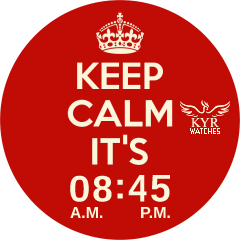 Kyr Keep Calm (Round & Square) VXP Watch Face