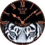 Kyr Le Tigre Blanc Watch Face