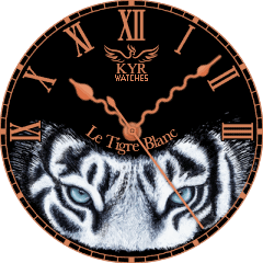 Kyr Le Tigre Blanc VXP Watch Face