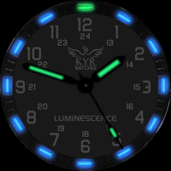 Kyr Luminescence VXP Watch Face