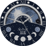 Kyr Lunar Dream Watch Face