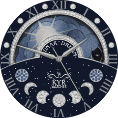 Kyr Lunar Dream VXP Watch Face