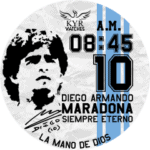 Kyr Maradona Watch Face
