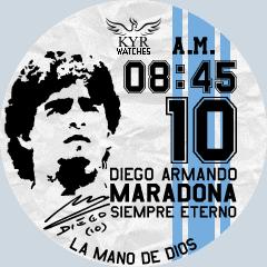 Kyr Maradona VXP Watch Face