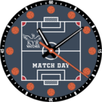 Kyr Match Day Clock Face