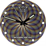 Kyr Modern Vertigo Watch Face