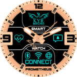 Kyr Prometheus Clock Face