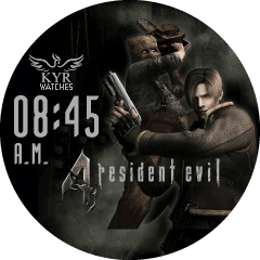 Kyr Resident Evil 4 VXP Watch Face