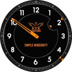 Kyr Simple Modernity VXP Watch Face