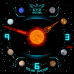 Kyr Solar System Watch Face
