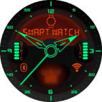 Kyr Space Pilot Analog Watch Face