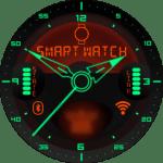 Kyr Space Pilot Analog Watch Face