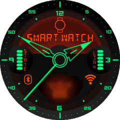 Kyr Space Pilot Analog VXP Watch Face