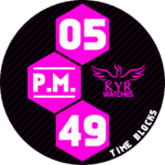 KYR Time Blocks Pink