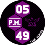 KYR Time Blocks Purple