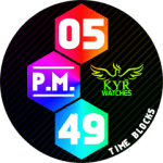 Kyr Time Blocks Pack Watch Face