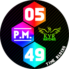 Kyr Time Blocks Pack VXP Watch Face