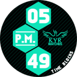 KYR Time Blocks Turquoise