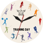 Kyr Training Day Clock Face