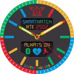 Kyr United Colors VXP Watch Face