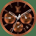 LV Bronze Watch Face