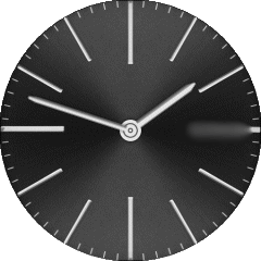 Lambretta Cesare Black VXP Watch Face