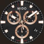 Mido Ocean Star Sport II Watch Face