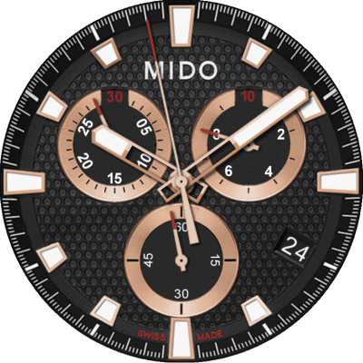 Mido Ocean Star Sport II Android Watch Face