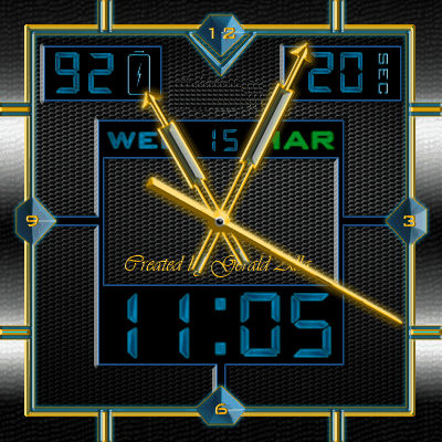 NO.1 Watchface Android Watch Face