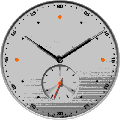Nomos Neo matik Silver Android Watch Face