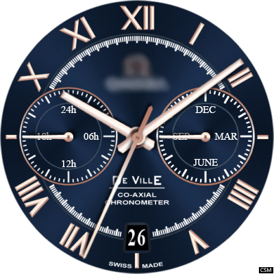 Omega De Ville Android Watch Face