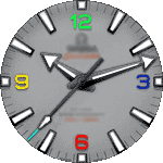 Omega 10 Watch Face