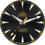 Omega 8v Watch Face