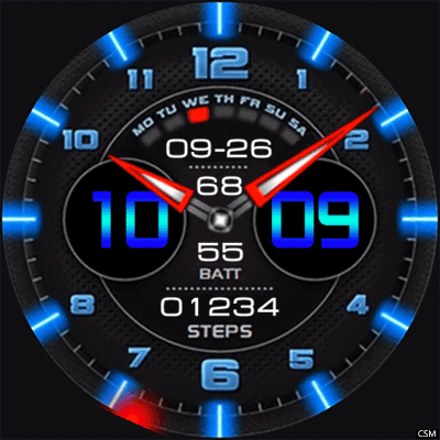 Order Xdg Android Watch Face