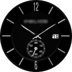 Police Black Watch Face