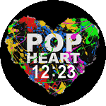 Pop Heart Watch Face