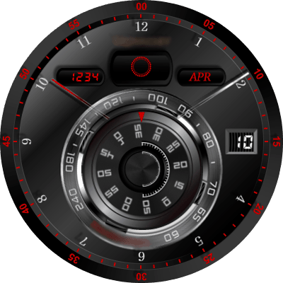 ROUND V.11 Android Watch Face